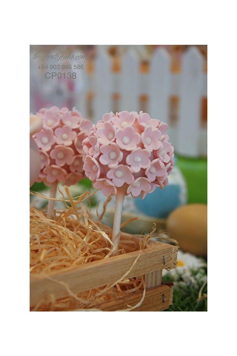 Cakepop hoa đào mùa xuân cho phụ nữ (CP0138)