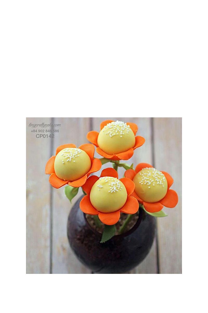 Cakepop hoa hướng dương cực bắt mắt cho phụ nữ (CP0142)