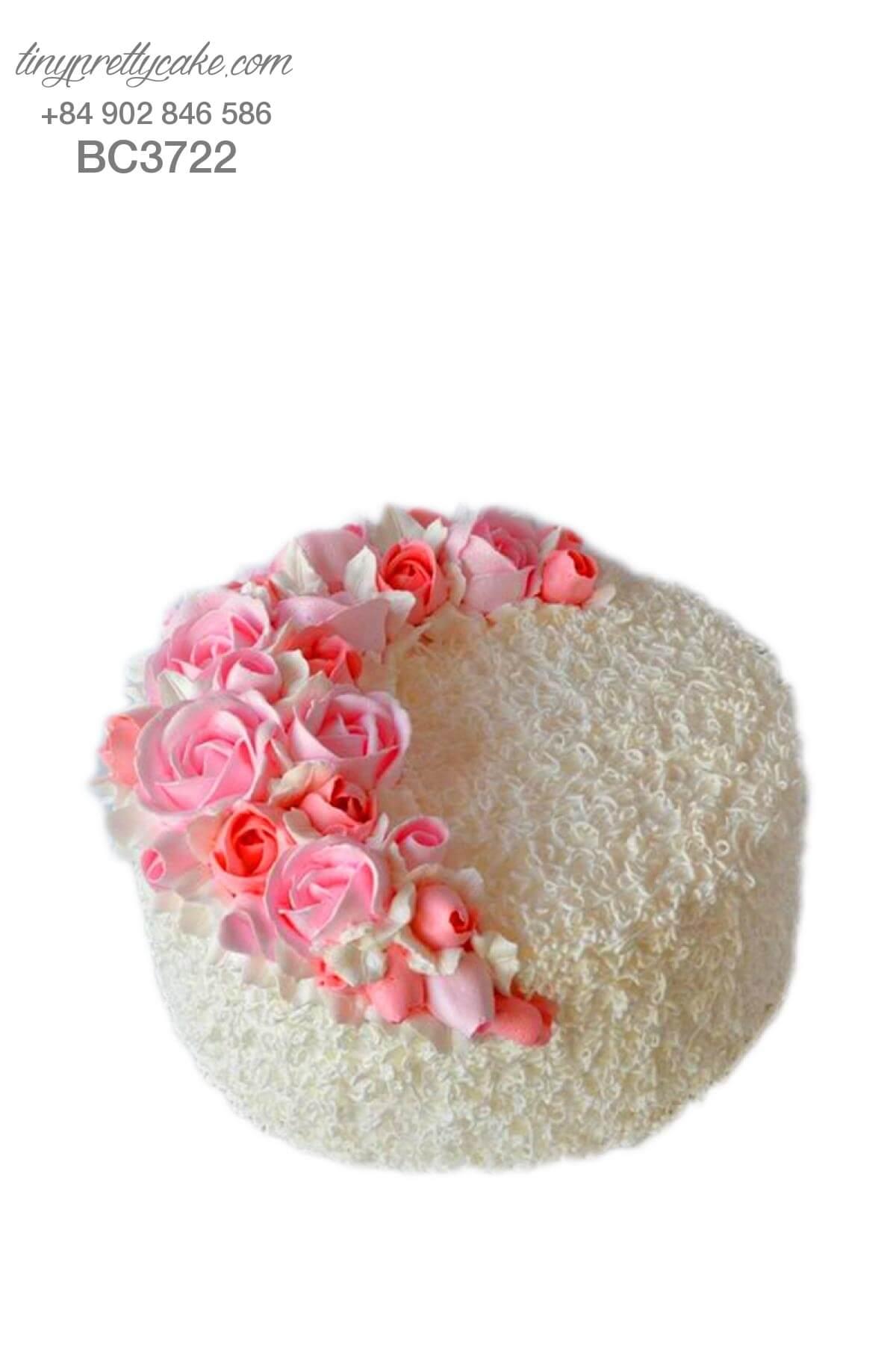 Bánh kem hoa hồng đẹp