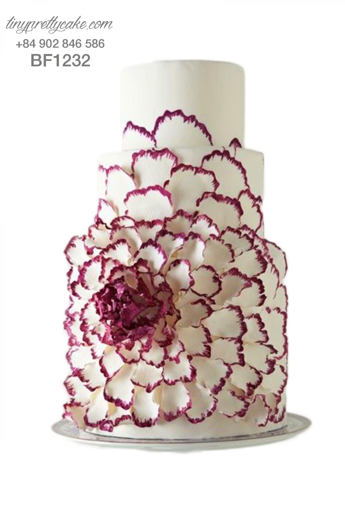 Bánh gato hoa nghệ thuật cực độc cho phụ nữ (BF1232)