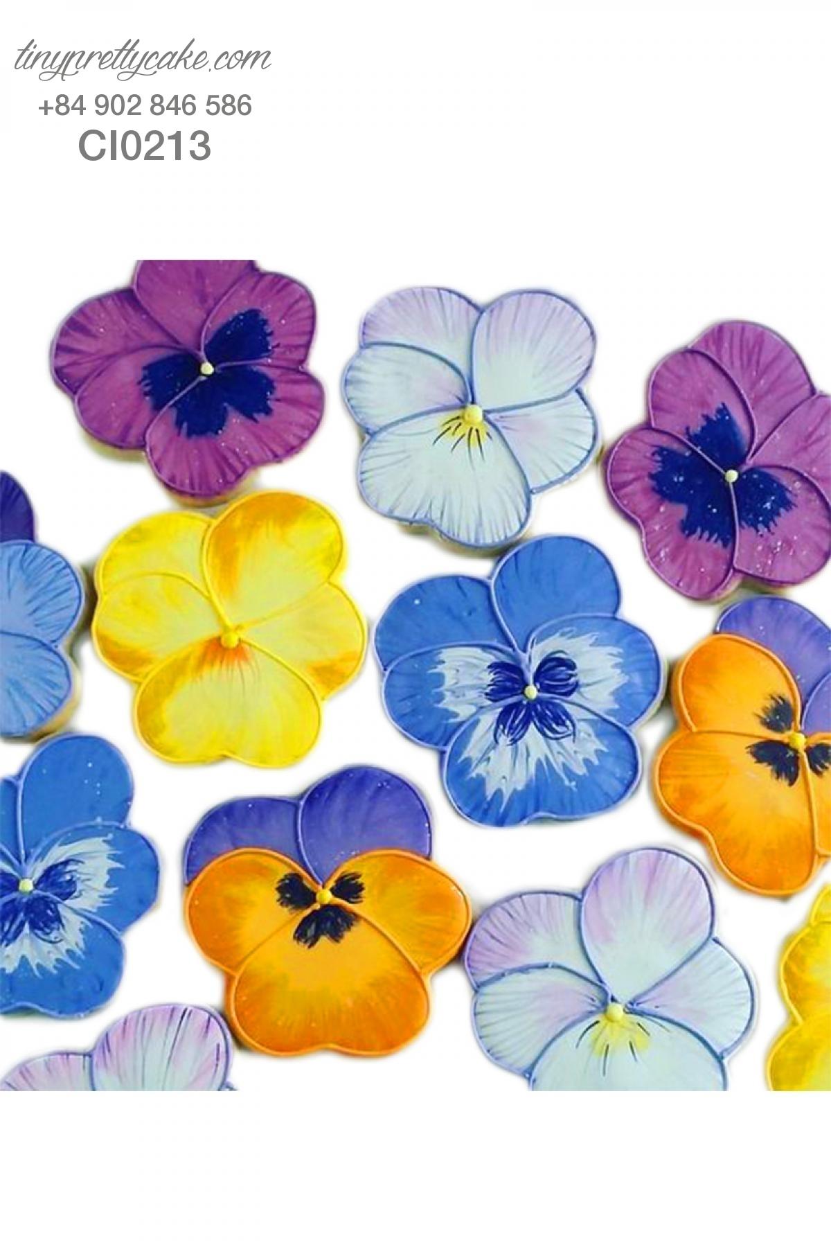 Cookie hoa nghệ thuật ĐỘC ĐÁO cho phụ nữ (CI0213)