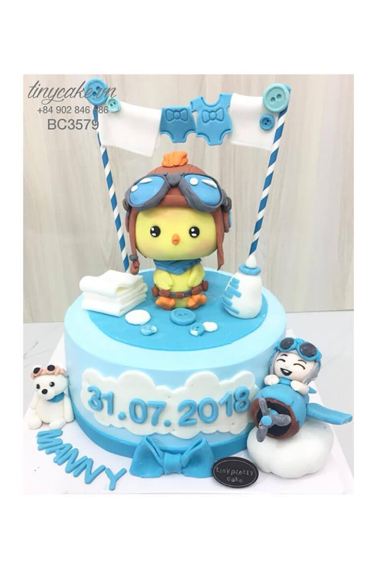 bánh gato sinh nhật cho bé trai tuổi dậu