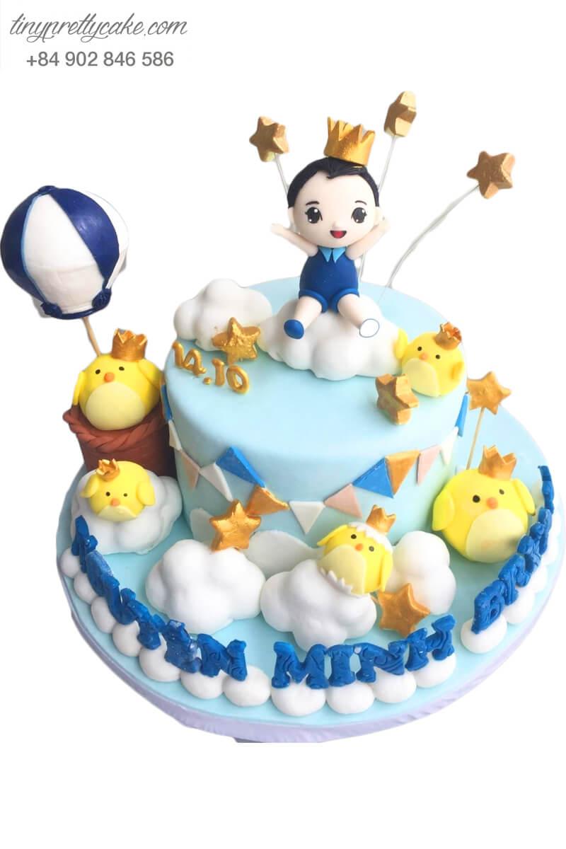 bánh sinh nhật hoàng tử bé
