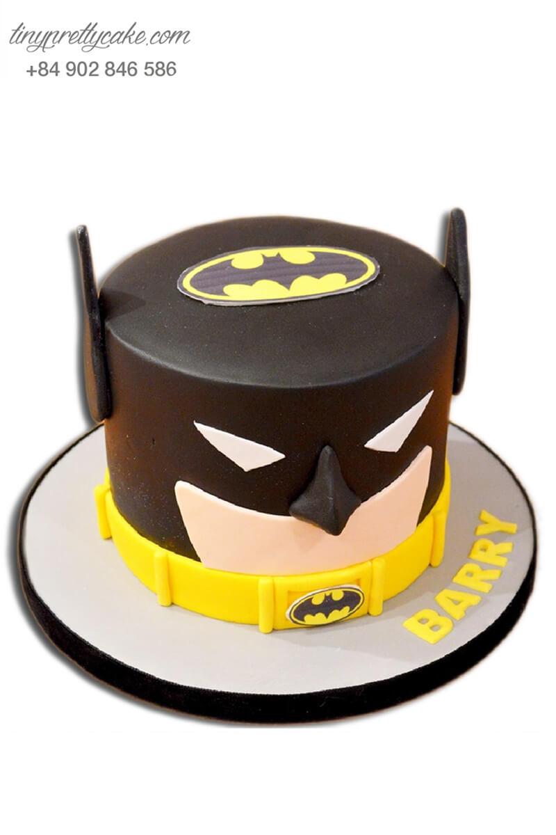 Bánh sinh nhật siêu anh hùng Batman cực độc đáo cho bé trai tinh nghịch (BF1174)