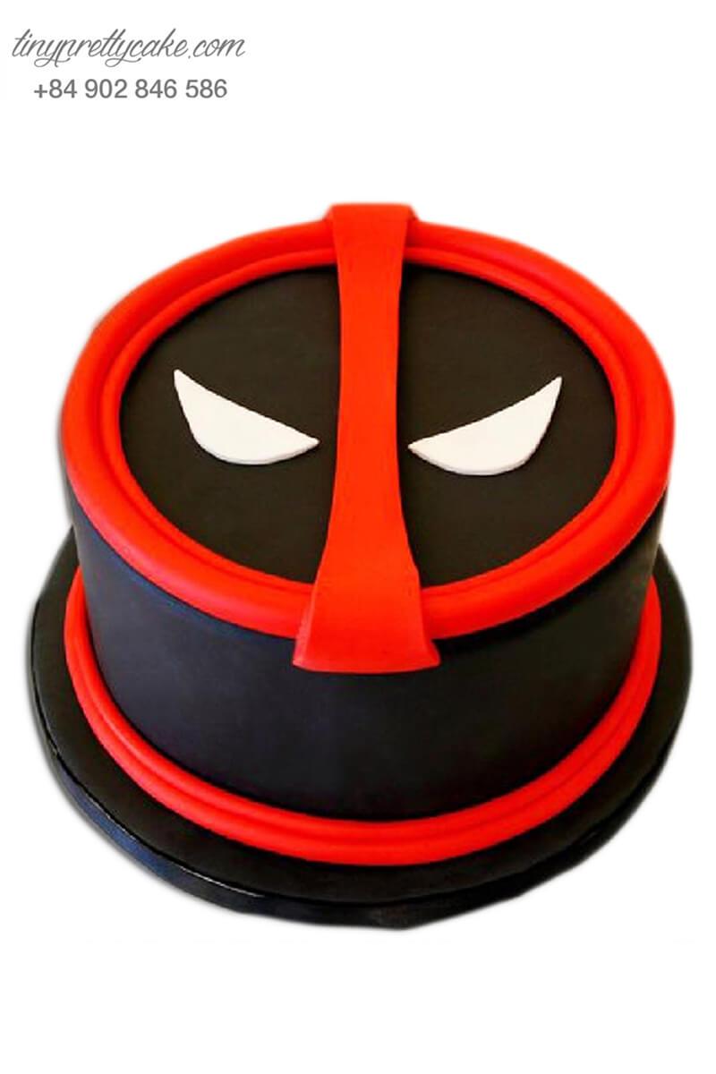 bánh sinh nhật tạo hình Deadpool