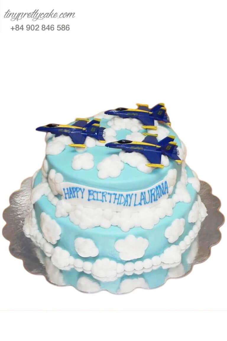 Bánh sinh nhật hình máy bay
