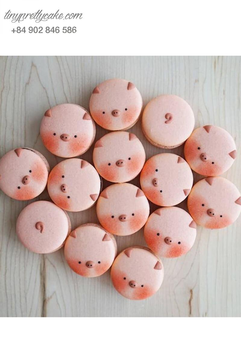 Set 14 cookie biểu tượng heo hồng xinh xắn - mừng sinh nhật, đầy tháng cho các bé