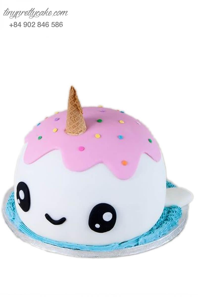 bánh sinh nhật Unicorn bé nhỏ