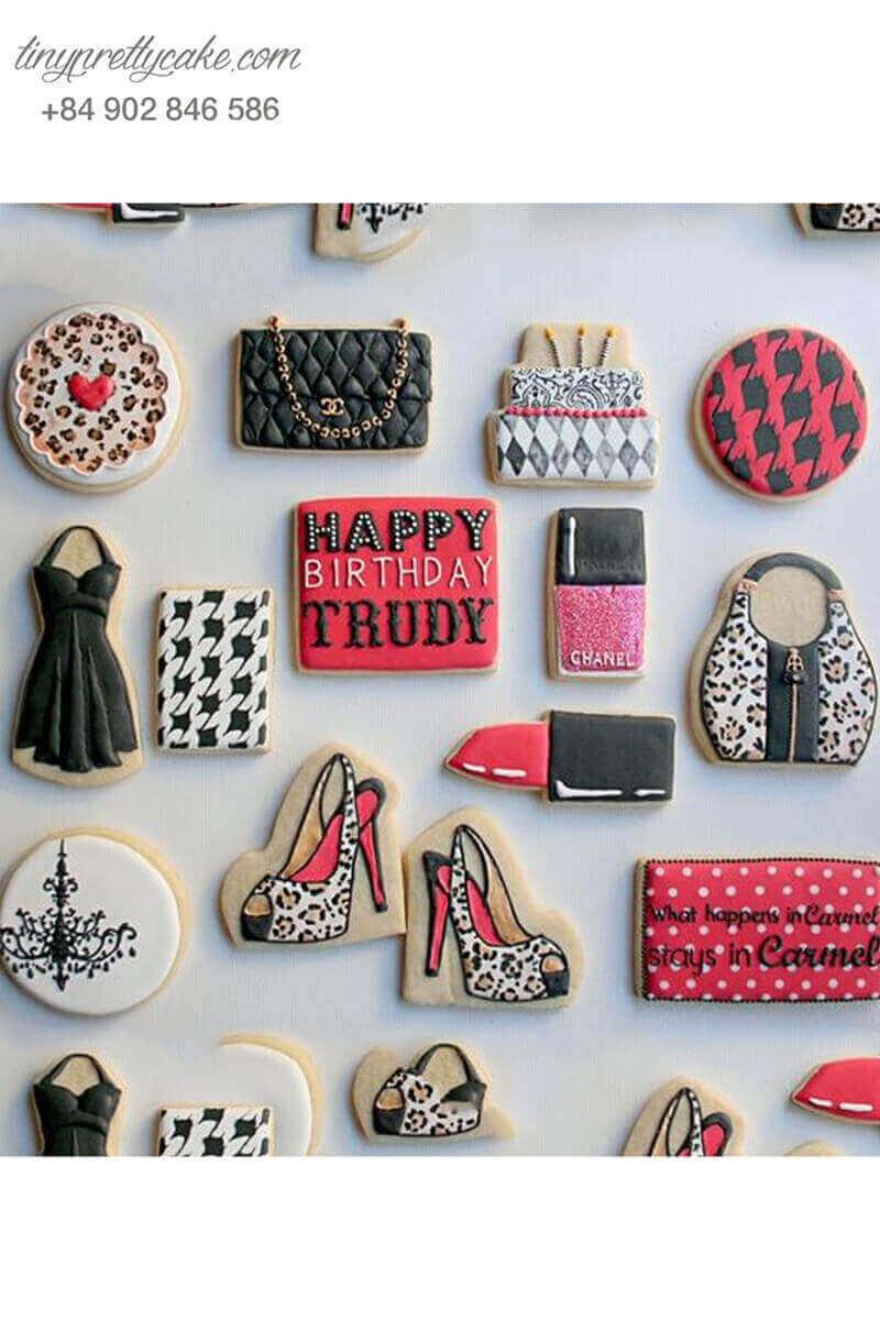 bánh cookie cho phái đẹp