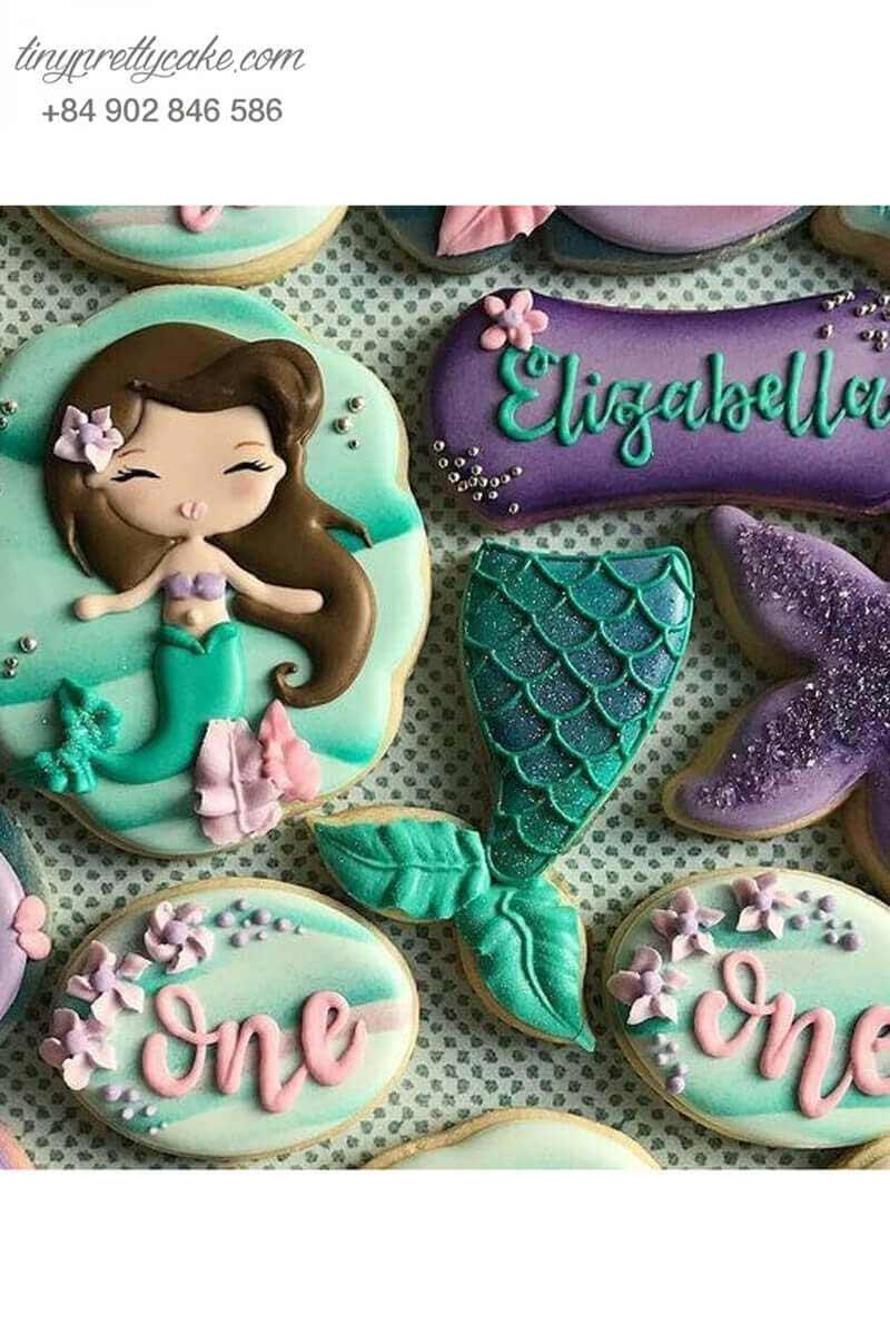 Bánh cookie nàng tiên cá