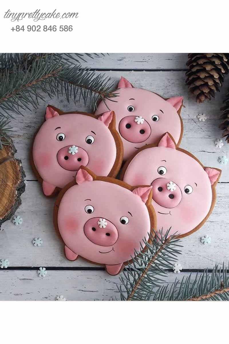 bánh cookie pig heo