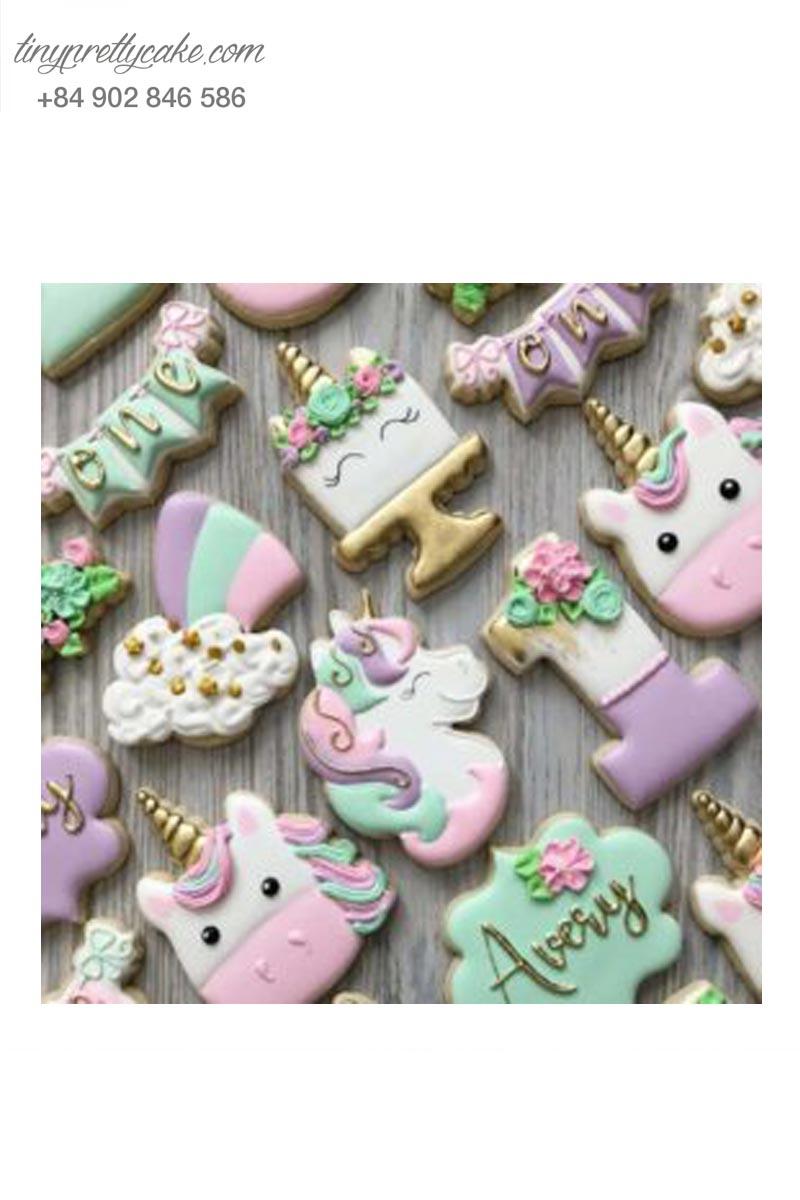 bánh cookie Unicorn ngọt ngào