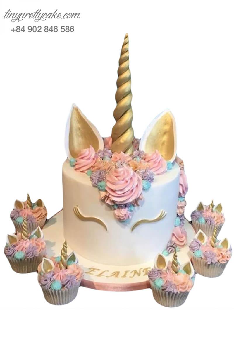 bánh sinh nhật Unicorn xinh đẹp