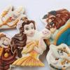 Set 5 Cookie Quái vật và người đẹp - mừng sinh nhật cho bé gái