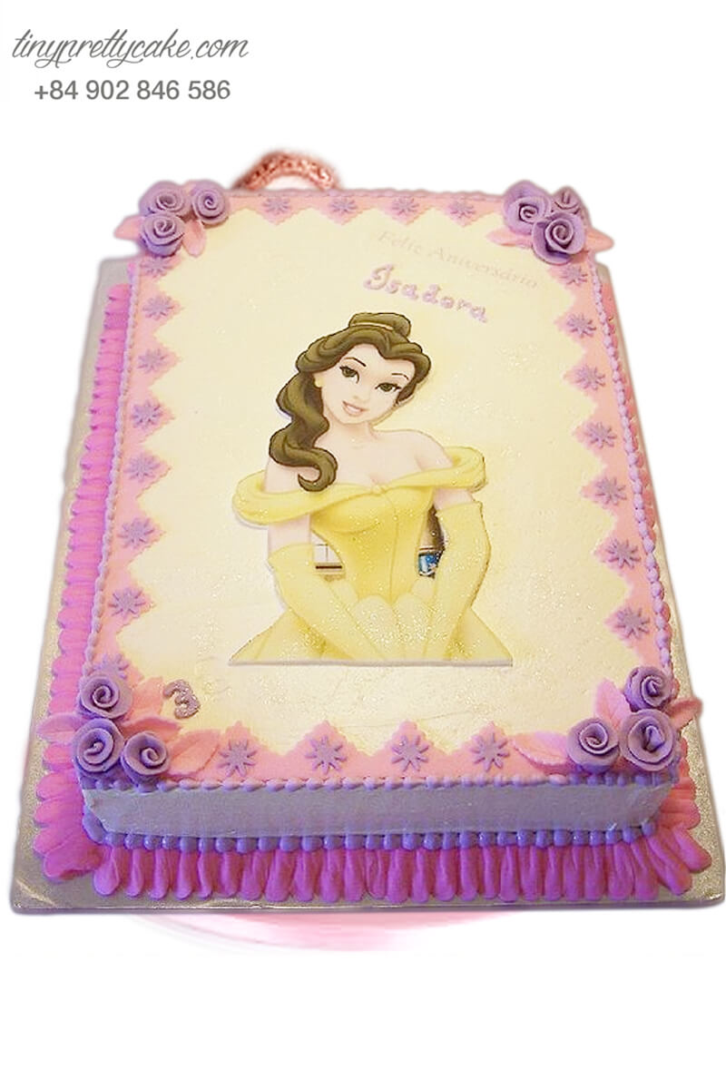 bánh kem người đẹp Belle