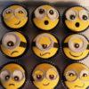 Set 12 Cupcake Minion với nhiều biểu cảm ngố tàu mừng sinh nhật các bé
