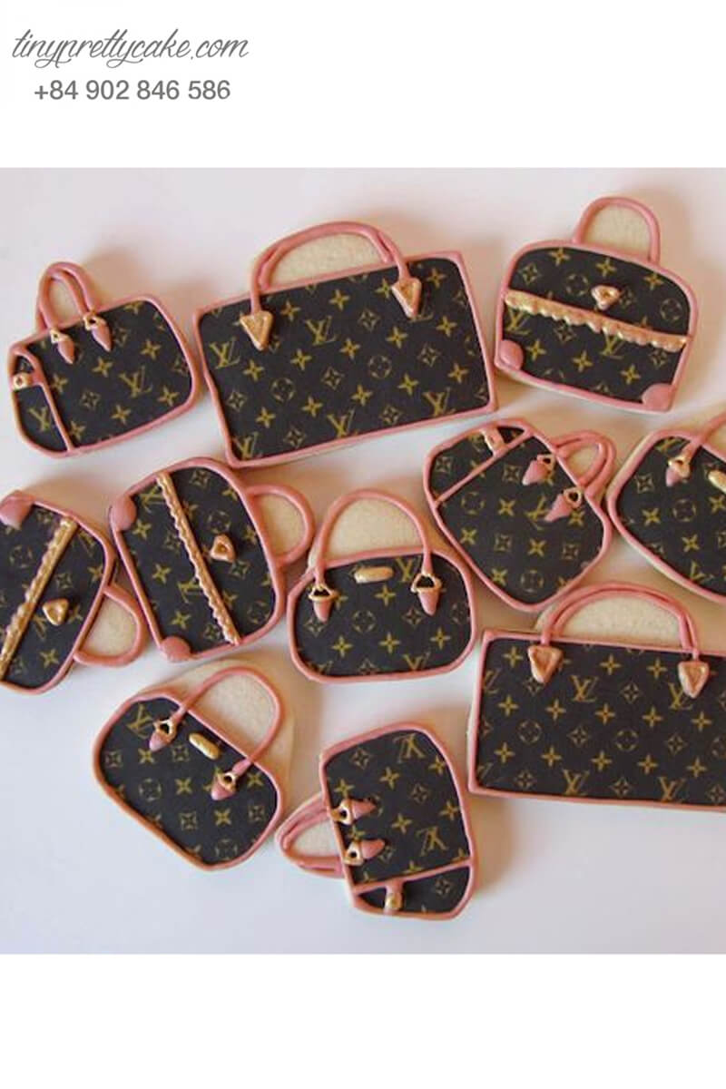 Set 11 Cookie hình túi xách độc đáo - Mừng sinh nhật mẹ,người yêu