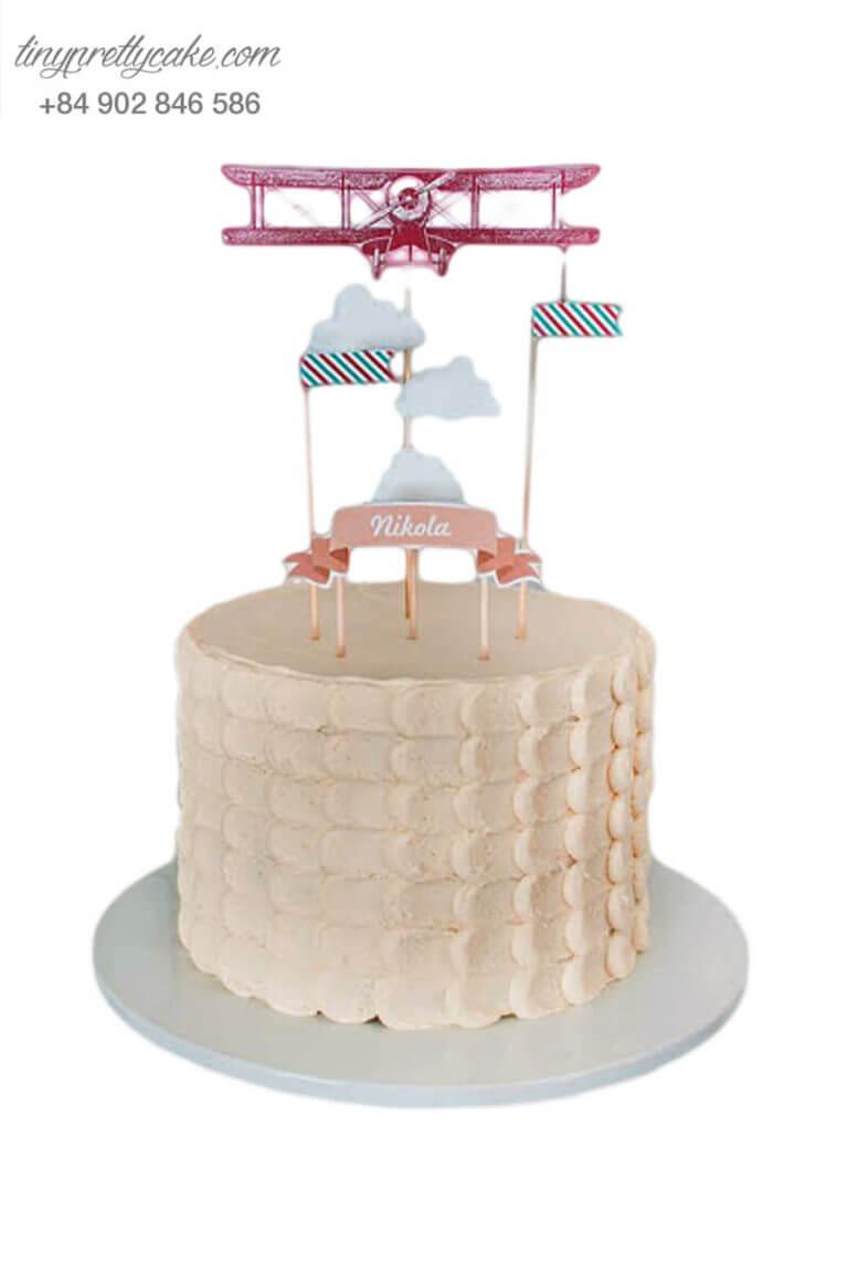 Bánh sinh nhật máy bay ngộ nghĩnh
