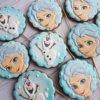 Bánh cookie nữ hoàng Elsa