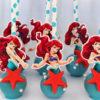 Bánh cakepop tạo hình nàng tiên cá Ariel xinh đẹp dành tặng các bé gái dịp sinh nhật
