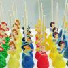 Set 30 bánh cakepop tạo hình những nàng công chúa Disney xinh đẹp dành tặng bé gái nhân dịp sinh nhật