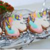 Set 3 Cookie tạo hình Unicorn pastel siêu yêu - mừng sinh nhật cho bé gái