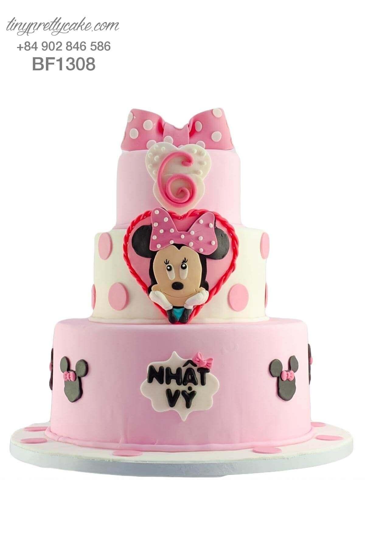 bánh sinh nhật chuột Minnie