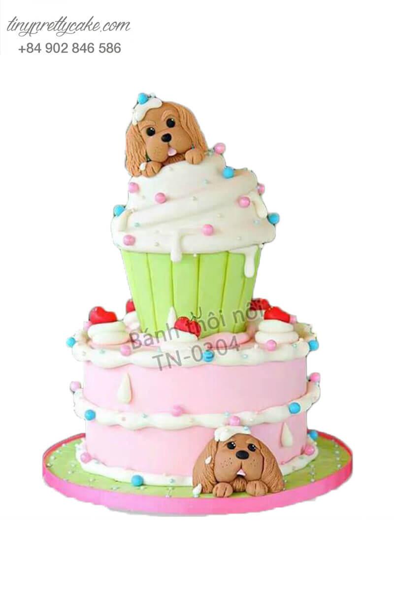 bánh kem hình cupcake