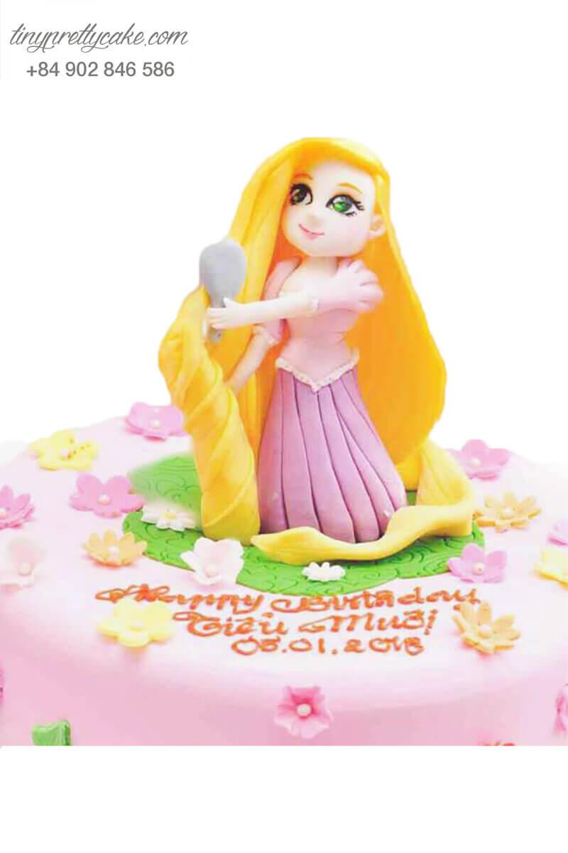 bánh sinh nhật công chúa Rapunzel