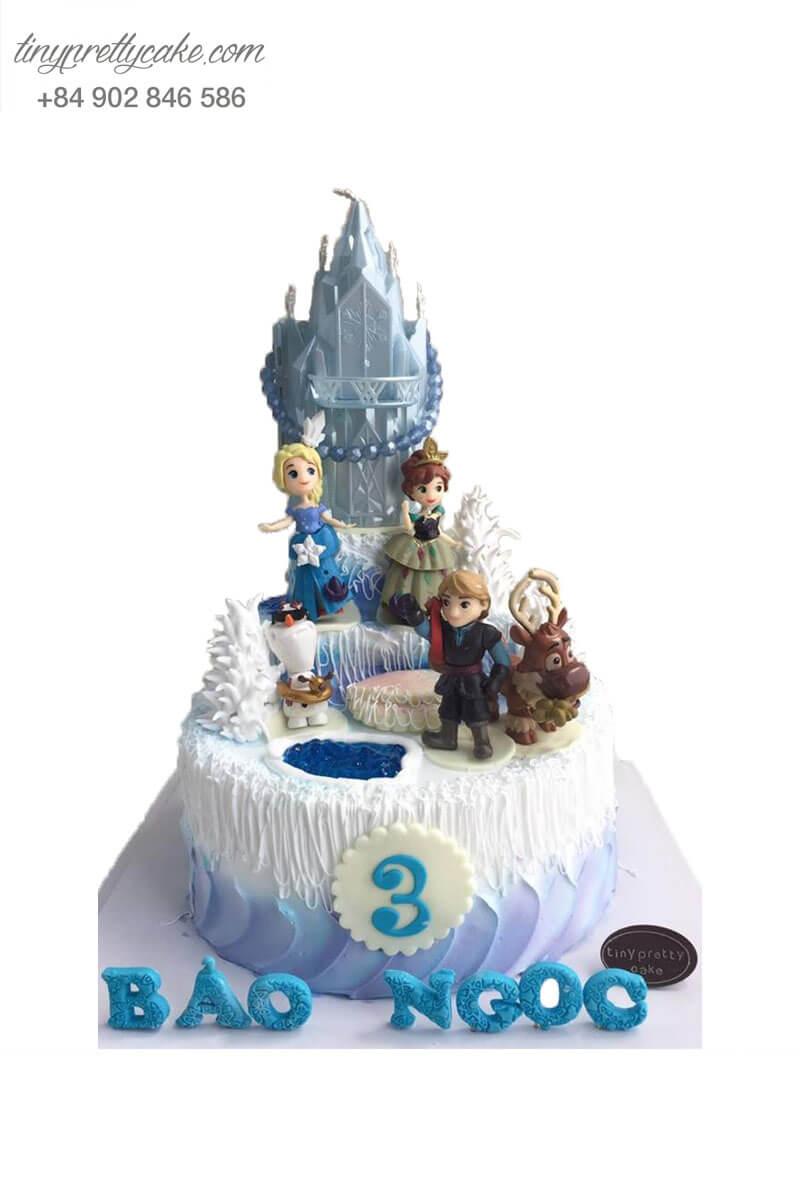 bánh sinh nhật Elsa độc đáo