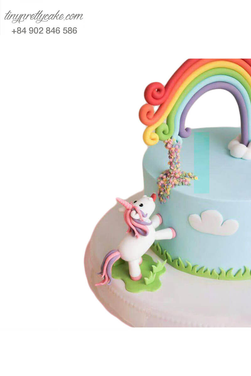 bánh sinh nhật Pony ngộ nghĩnh