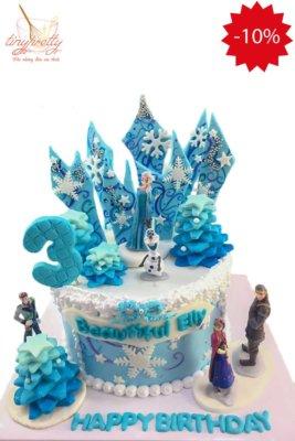 bánh sinh nhật Elsa đẹp