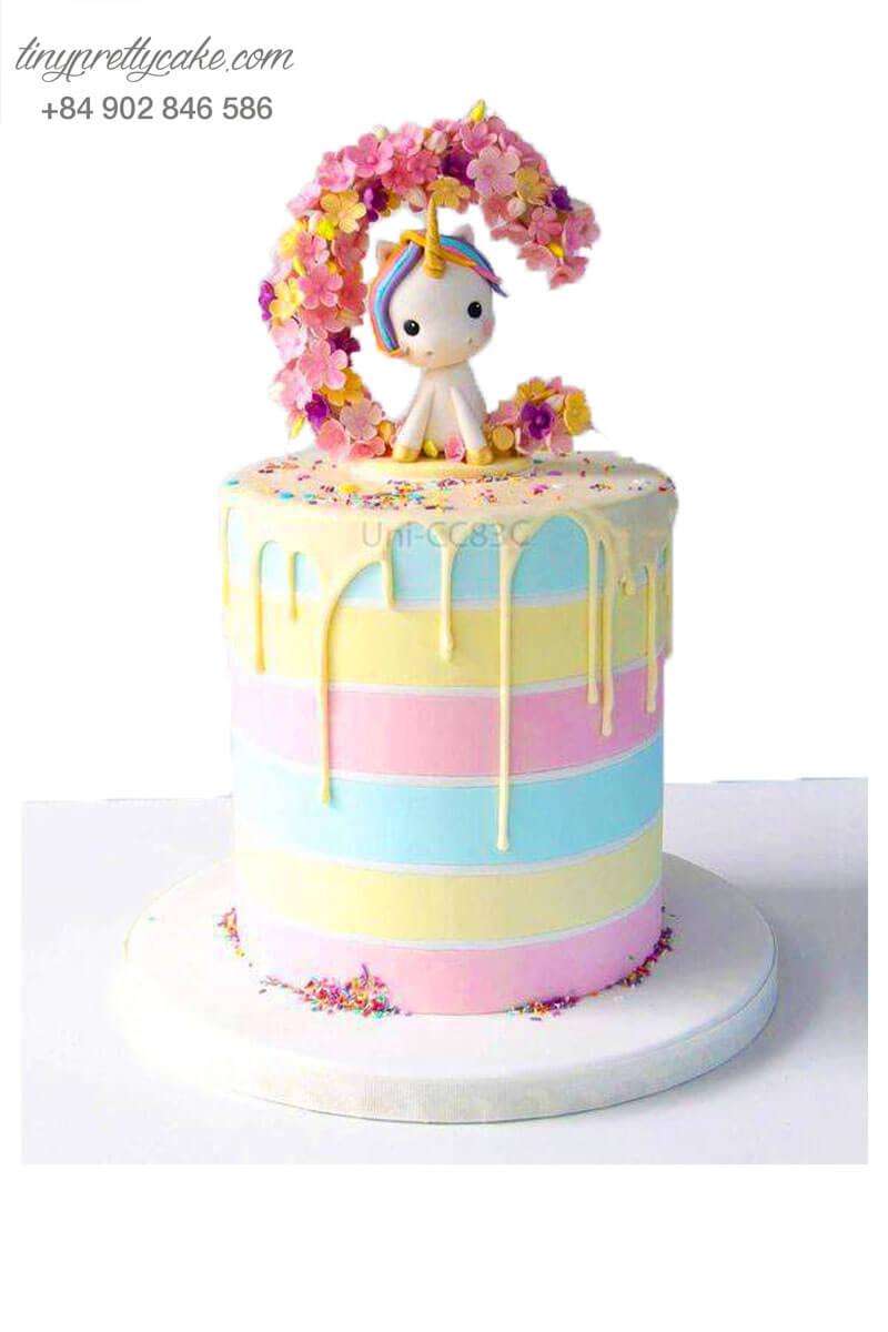 bánh sinh nhật Unicorn xinh xắn