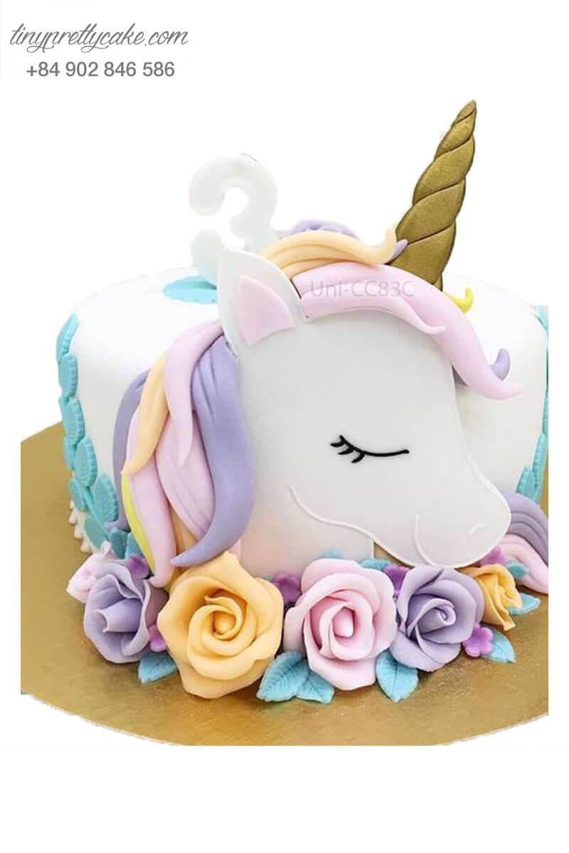 bánh sinh nhật Unicorn mộng mơ