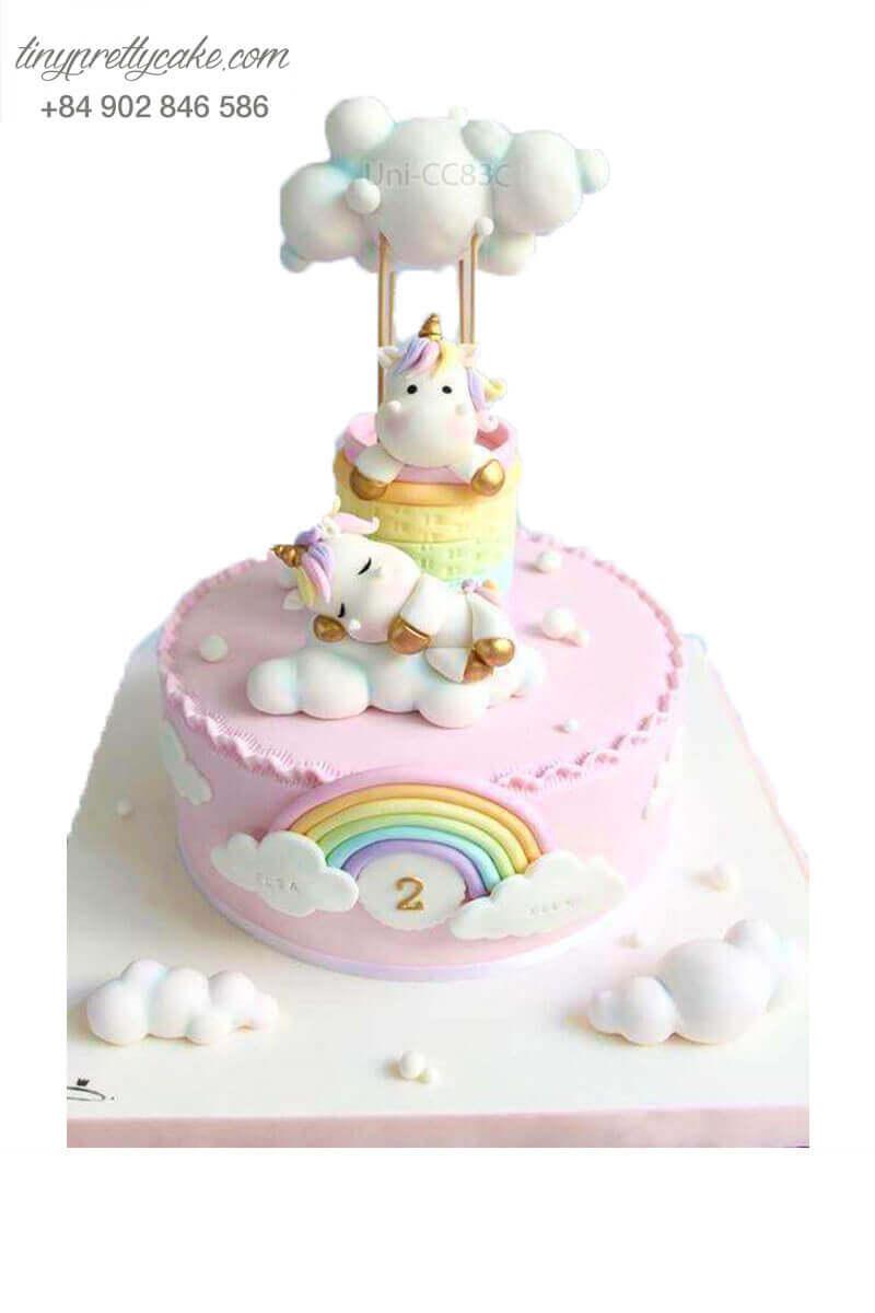bánh sinh nhật Unicorn mơ màng