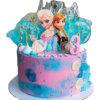 bánh kem nữ hoàng Elsa