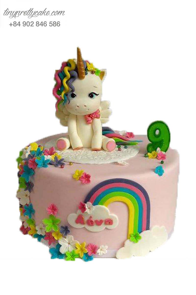 Bánh sinh nhật Unicorn ngọt ngào