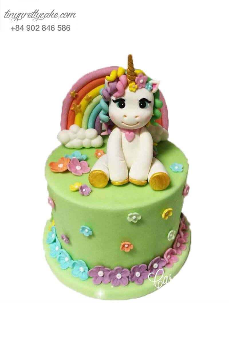 bánh sinh nhật Unicorn độc đáo