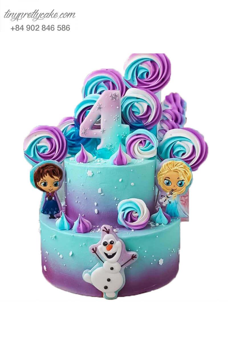 Bánh gato Elsa ombre là số một!