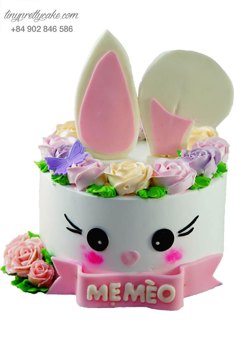 bánh kem con thỏ