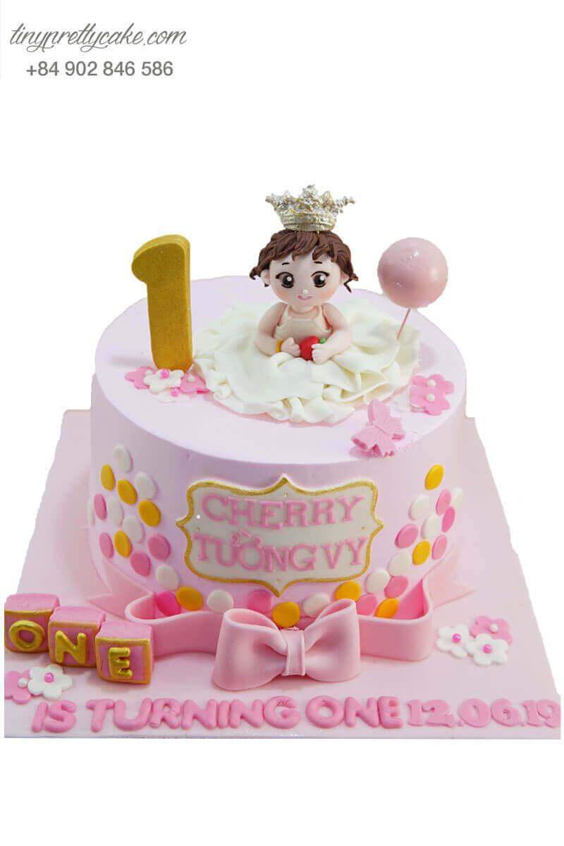 bánh kem công chúa nhỏ