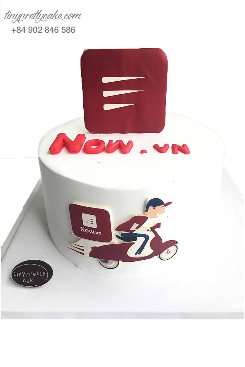 bánh kem kỉ niệm công ty Now