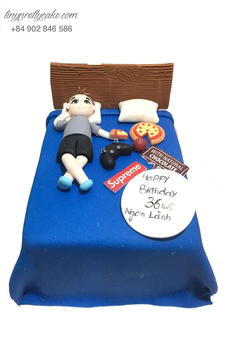 bánh sinh nhật cho đàn ông độc thân