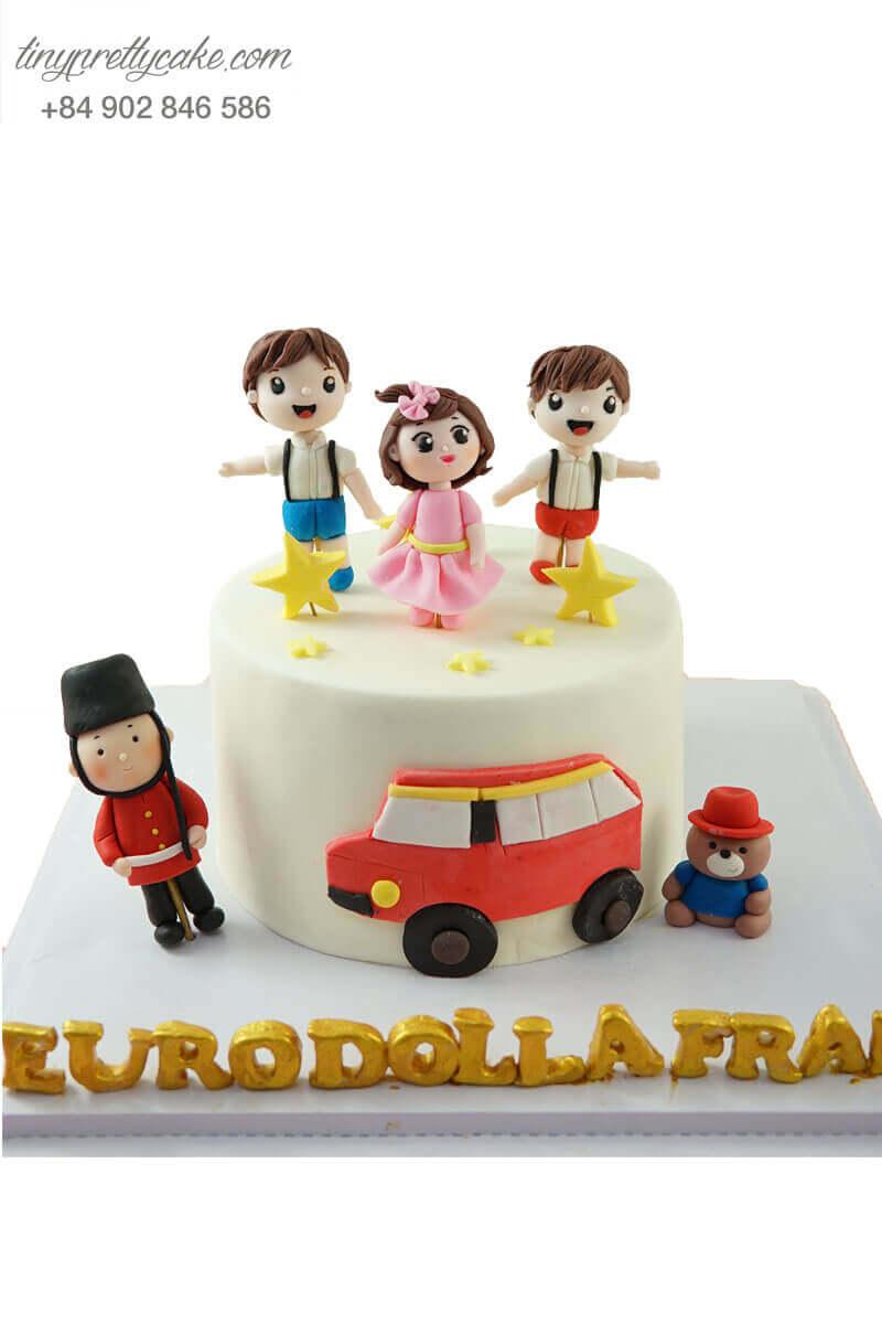 bánh sinh nhật hình trẻ em