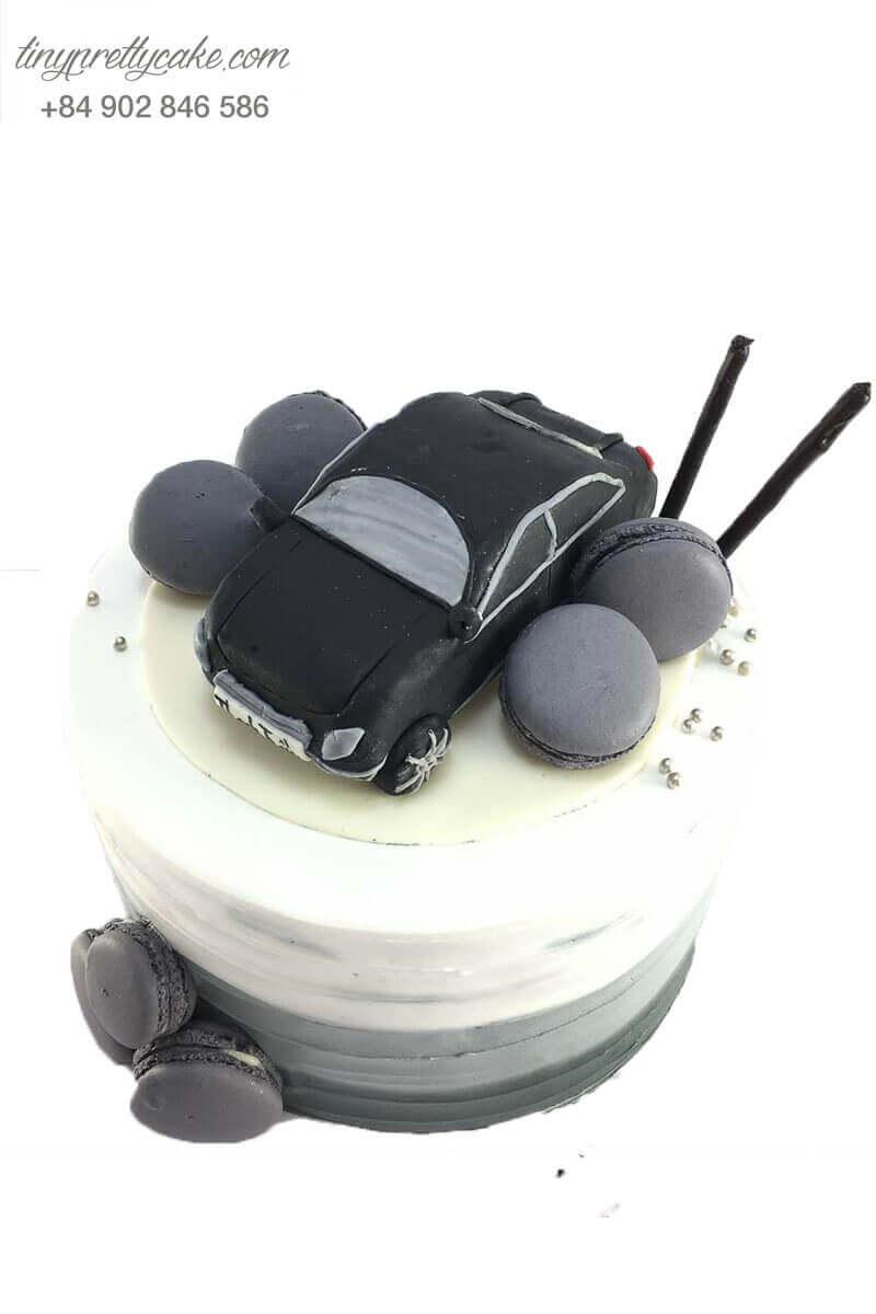 bánh sinh nhật hình xe hơi cho nam giới