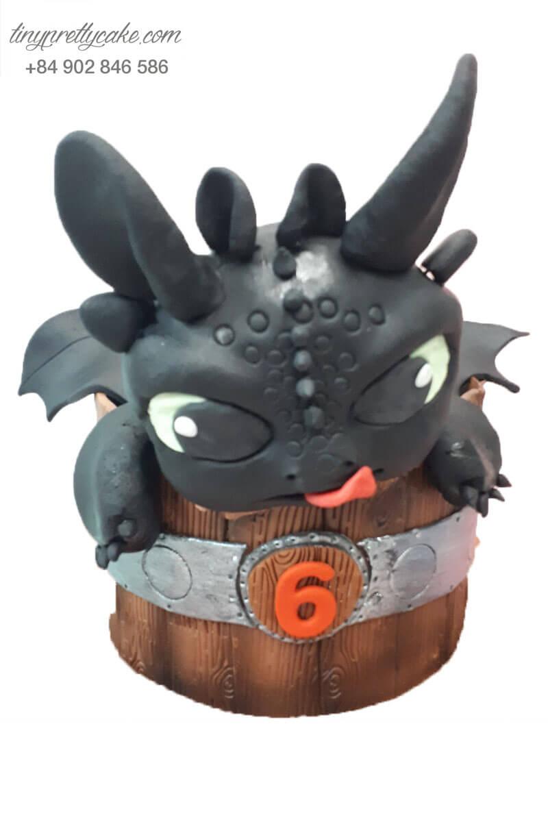 bánh sinh nhật tạo hình rồng Sún Tất